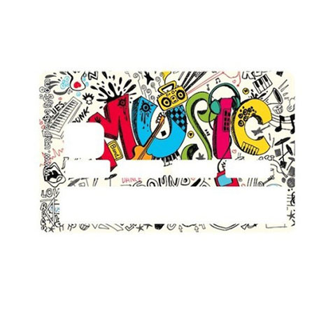 Sticker CB Music Colors