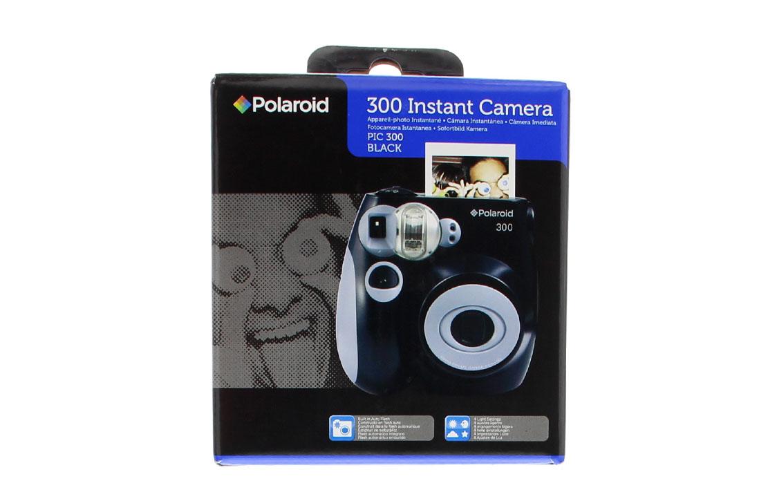 Appareil Photo Instantané PIC 300 Polaroid (noir)