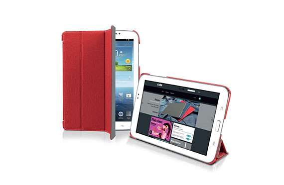 Housse de protection SBS Galaxy Tab 3 (Rouge)