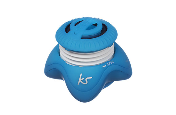 Enceinte portable Invader KitSound (Bleu)