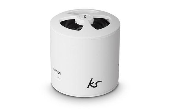 Enceinte Bluetooth PocketBoom KitSound (Blanc)