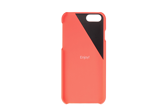 Coque Clic Wooden iPhone 6+/6s+ Native Union (Corail/Merisier)