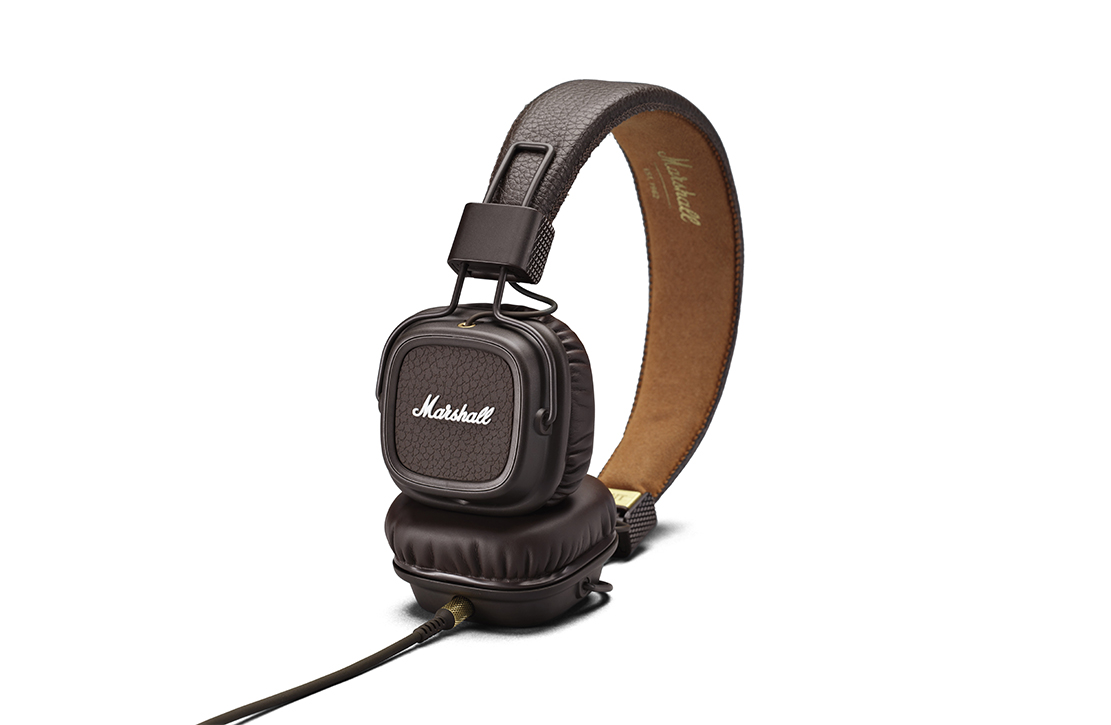Casque Marshall Major II Marron