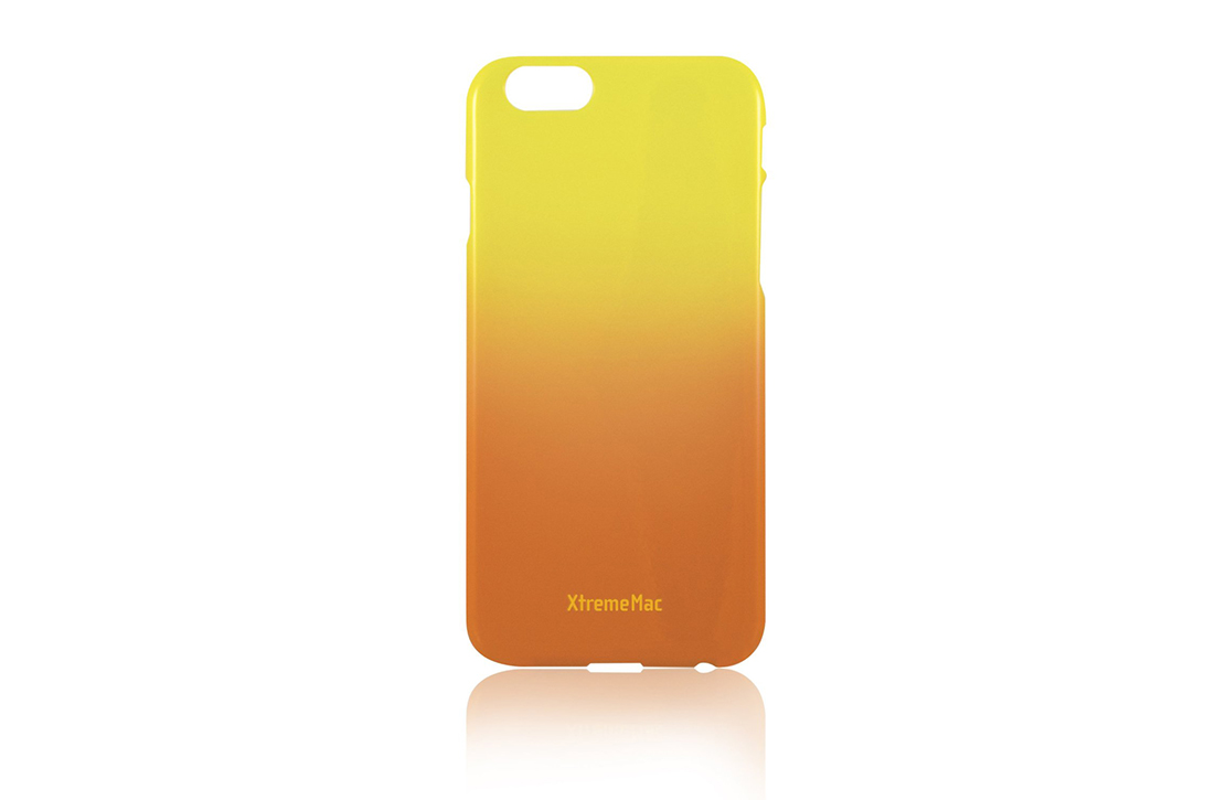 Coque XtremeMac pour iPhone Orange et Jaune
