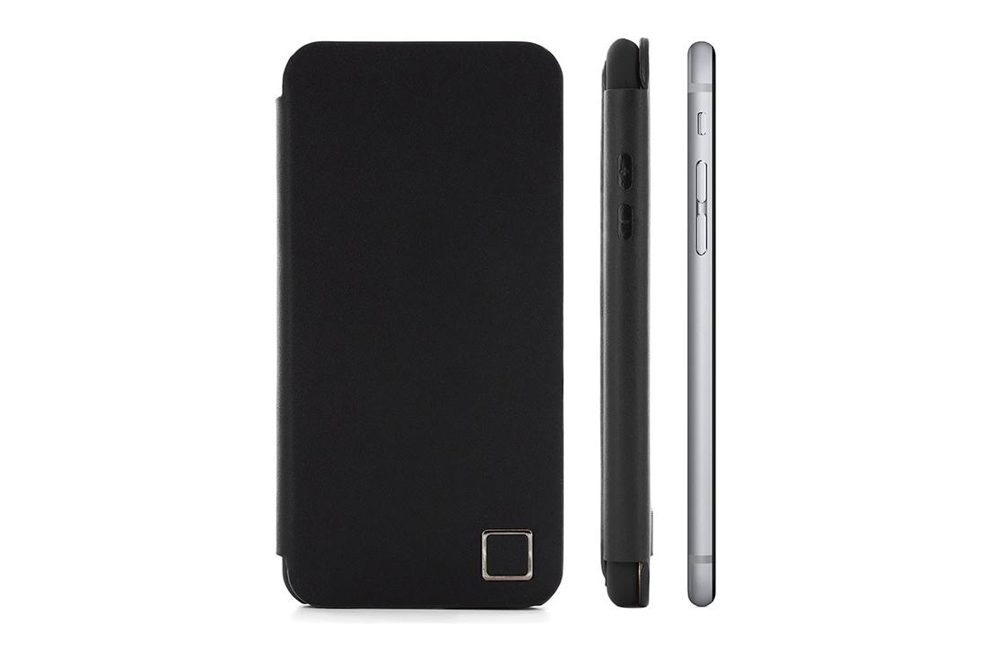 Coque Proporta iPhone 6 Cuir Noir Super Slim