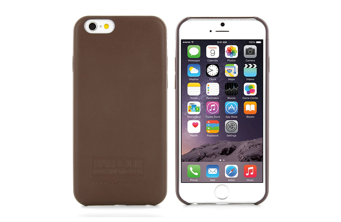 Coque Barbour Marron pour iPhone 6