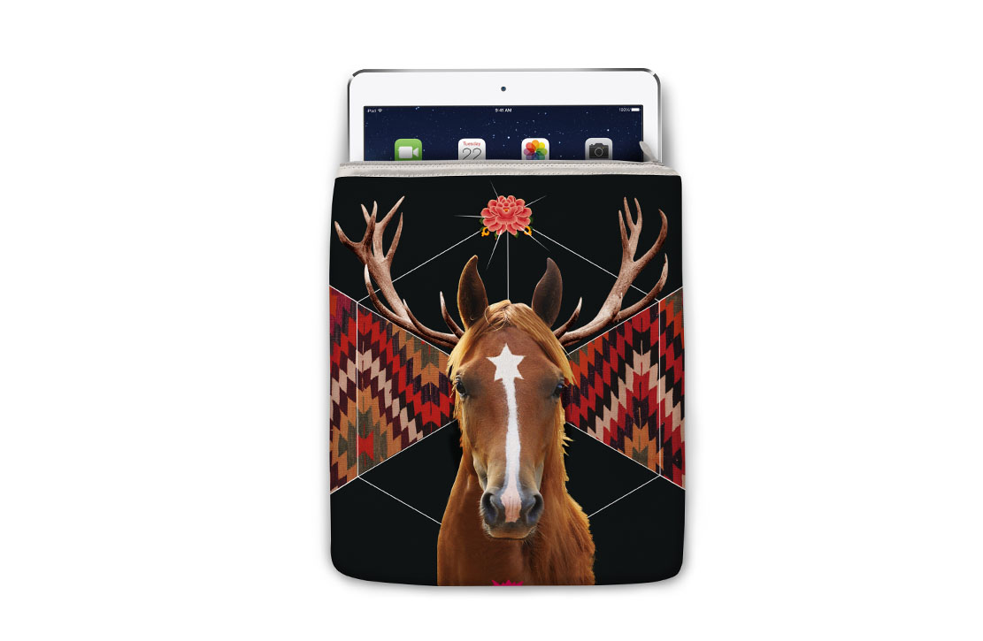 Housse Super Collection Cheval iPad