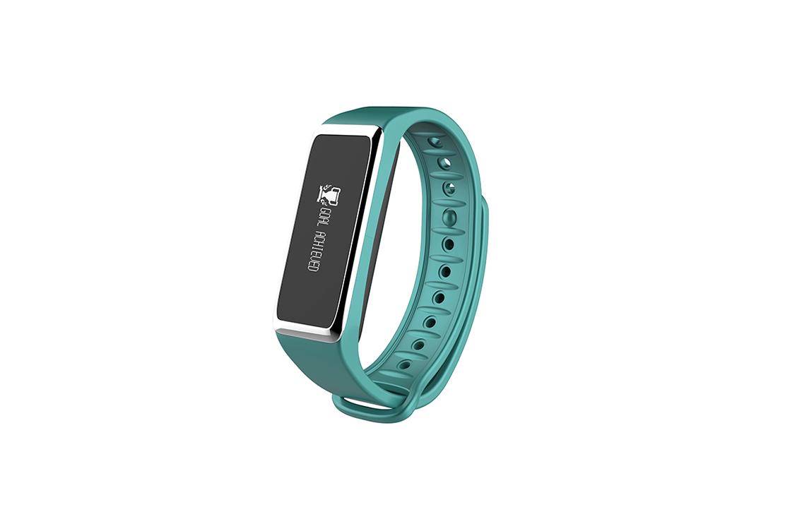 Bracelet connecté ZeFit 2 Turquoise Mykronoz