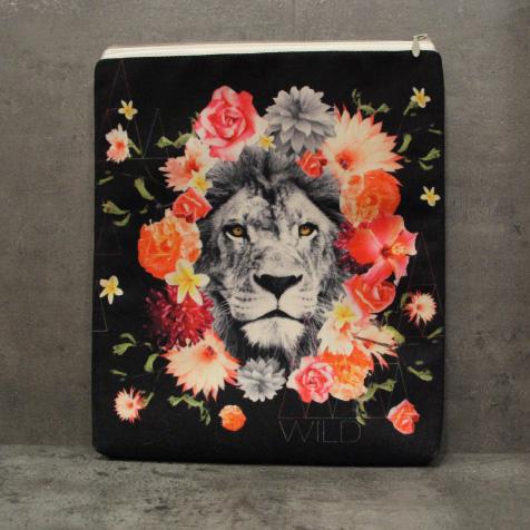 Housse Super Collection Lion Fleur iPad