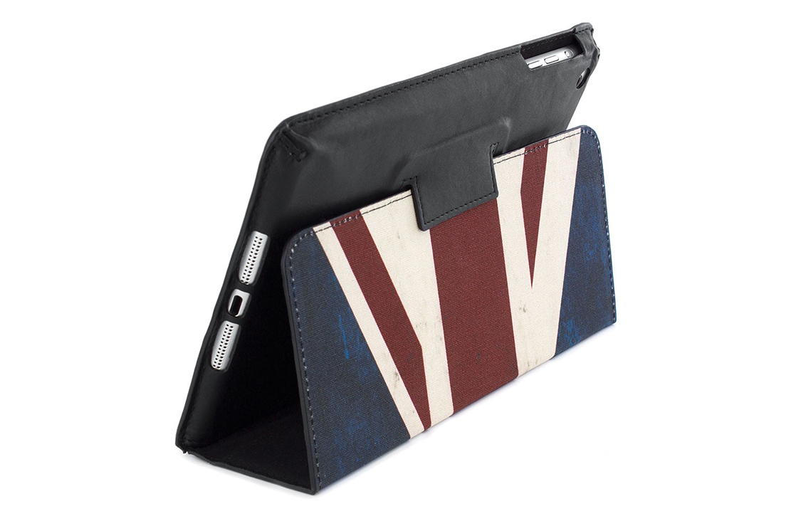 Coque Barbour Noir – Union Jack