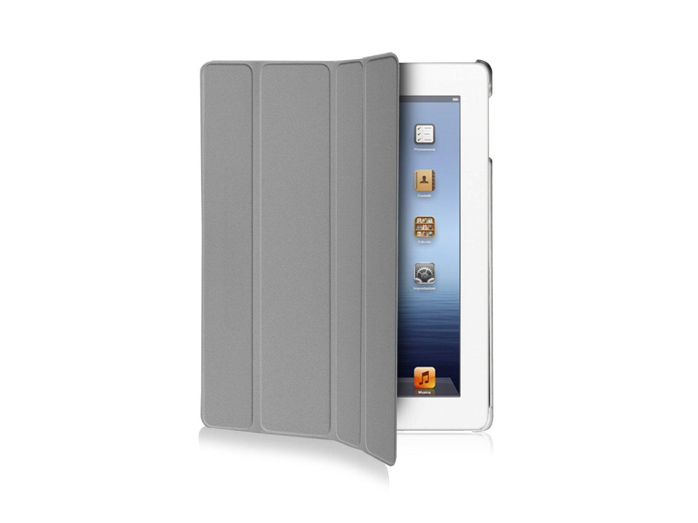 Etui de protection à rabat SBS pour iPad et iPad2 (Gris)