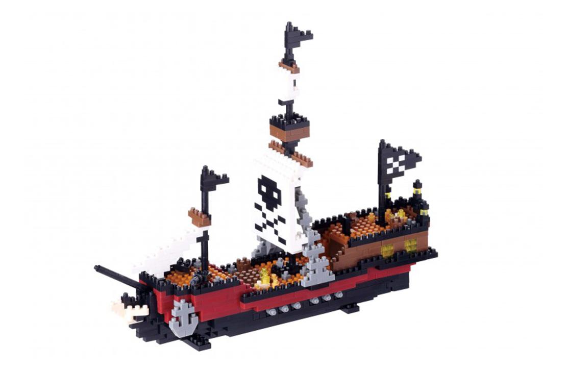 Nanoblock Navire de pirates