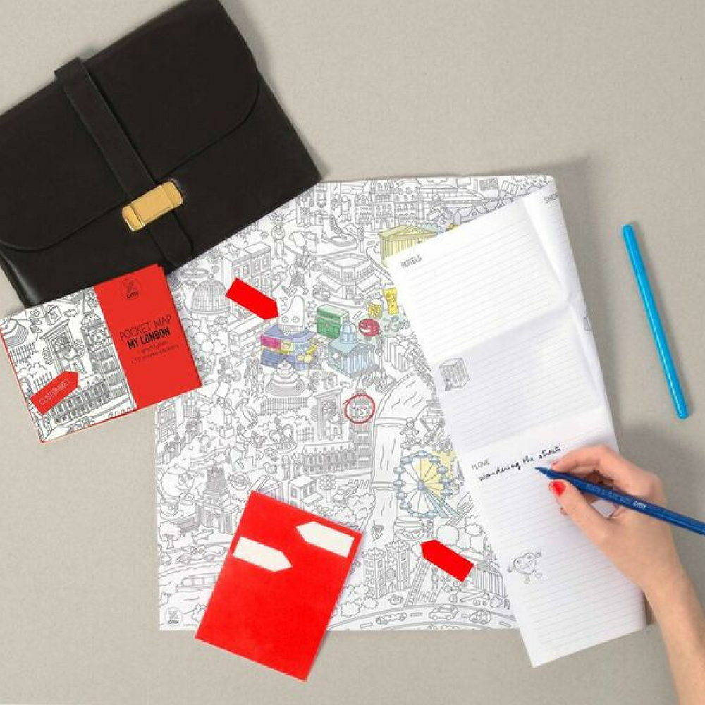pocket map My Londres OMY