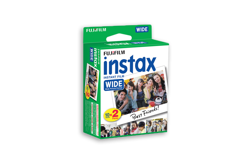 Papier photo Fuji Instax Wide 2 packs
