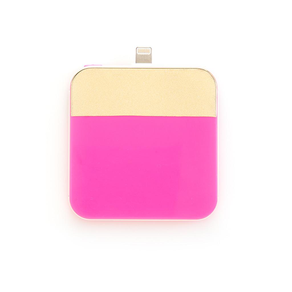 Batterie externe Ban.do Color Block Rose & Or