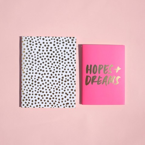 Cahier Good Ideas Petite Party Dots Ban.do