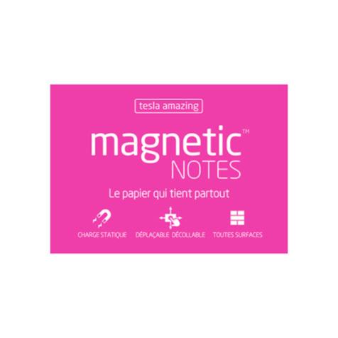 Magnetic Notes M Tesla Amazing Rose