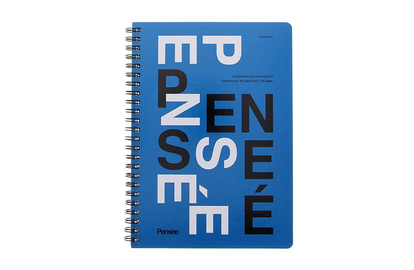 Cahier Pensée A5 bleu Mark's