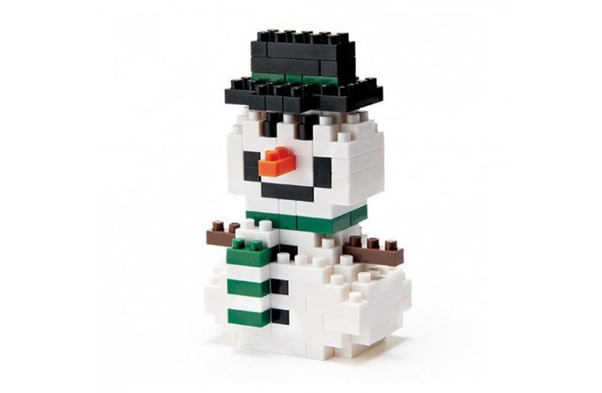 Nanoblock Bonhomme de neige