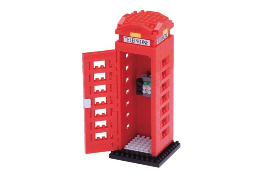 Nanoblock Cabine Téléphonique rouge
