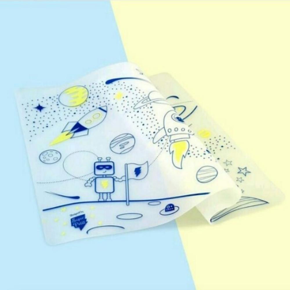 Set de table à colorier A Little Lovely Company Super Petit