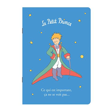 Cahier A5 bleu le Petit Prince Kiub