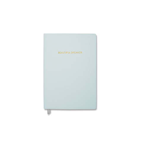 Notebook petit format Beautiful Dreamer bleu pastel Katie Loxton