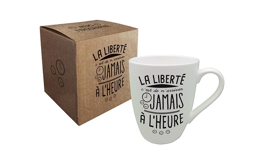 Mug Citation «La liberté » Kiub