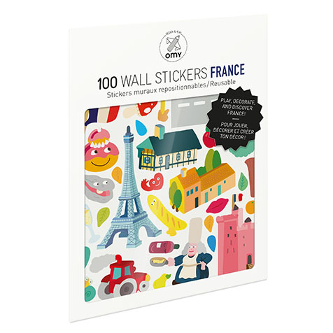 Stickers France Omy