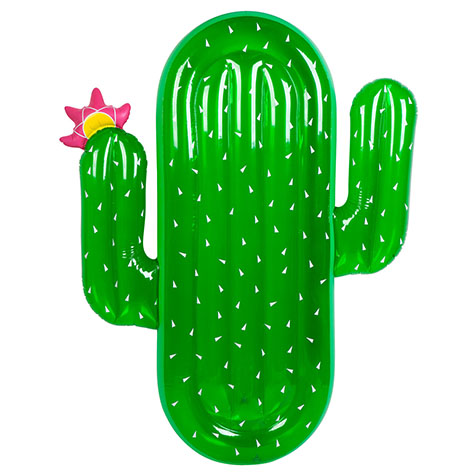 Bouée adulte Luxe Cactus Sunny Life