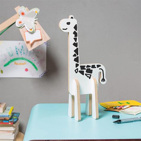 Gisèle girafe en bois Donkey Products