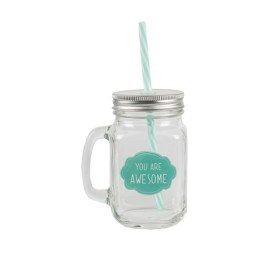 Mason jar You are Awesome Sass & Belle