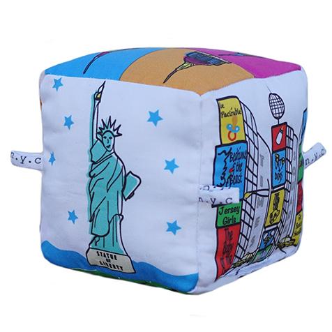 Cube pour enfants New York Globe Totters