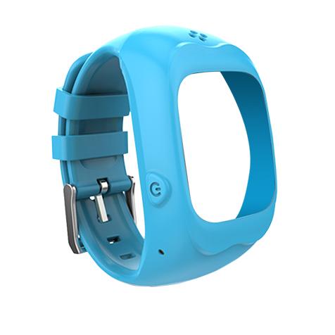 Bracelet pour montre connectée enfant bleu Kiddoo