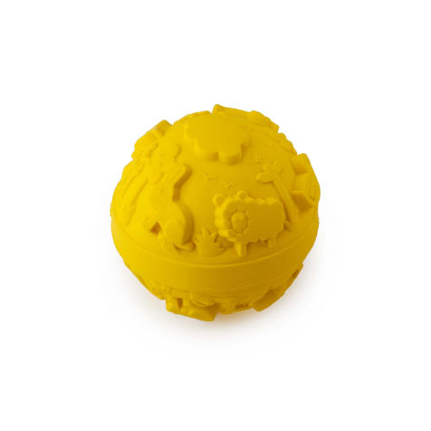 Jouet de bain Balle jaune Oli & Carol