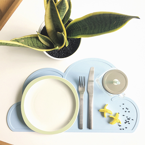 Set de table Nuage bleu KG Design