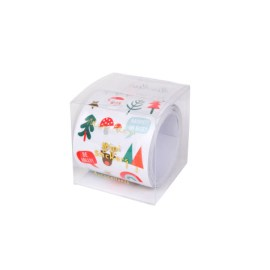 Rouleau de 100 petits stickers Icônes de Noël Meri Meri