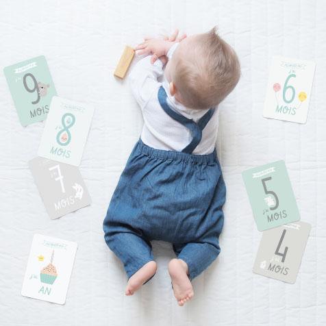 Kit premiers mois de bébé blanc Zü