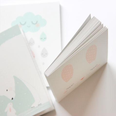 Carnet de note Bunny blanc Zü