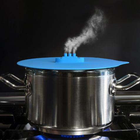 Couvercle de casserole bleu bateau Invotis