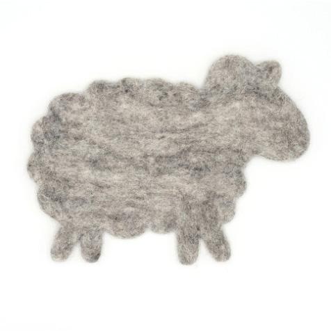 Dessous de plat Mouton gris Invotis
