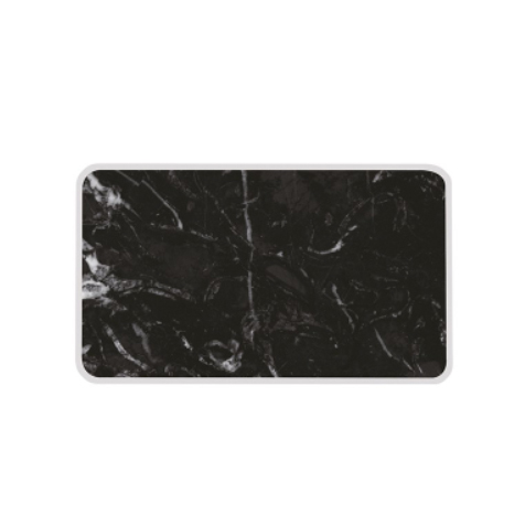 Planche de service Osmose marbre noir et blanc Zak Designs