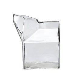 Pot à lait en verre transparent Bloomingville