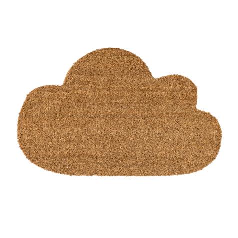 Paillasson nuage marron Bloomingville
