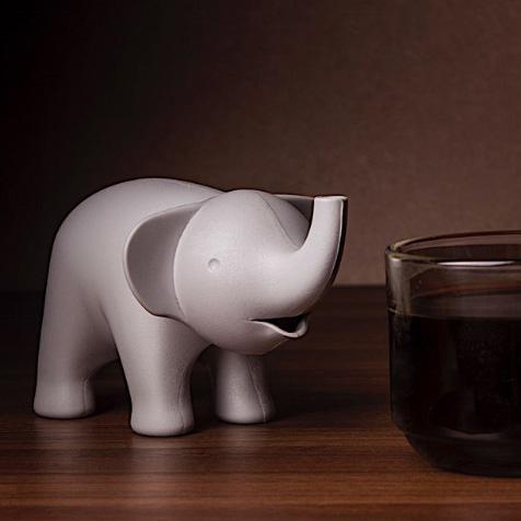Sucrier éléphant gris Qualy