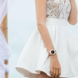 ZeTime Elite regular bracelet métal rose or milanese MyKronoz