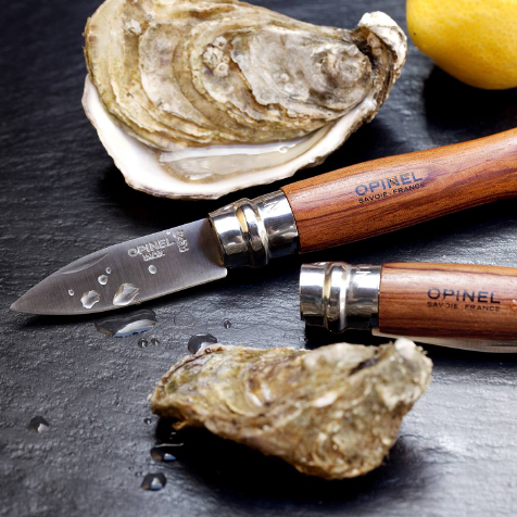 Couteau à huitres et coquillages n°09 bois Opinel