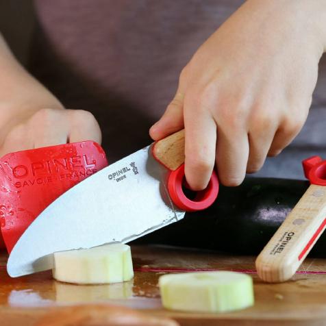 Coffret Le Petit Chef bois rouge Opinel