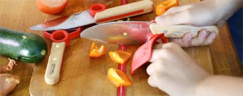 Coffret couteaux enfant Opinel Petit chef