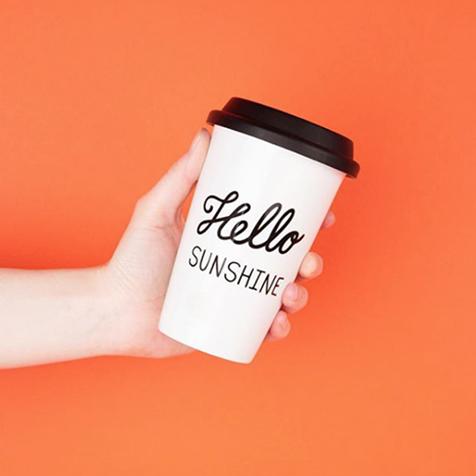 Mug Hello Sunshine Sass & Belle